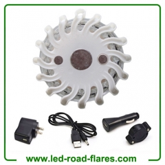 Rechargeable Led Emergency Flares White