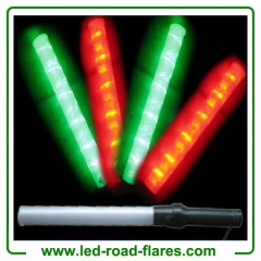 "21"" Inches 54cm Red Green Led Batons Led Traffic Batons"