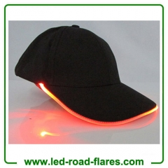 Led Light Up Cap Flashing Led Light Up Hats Glow Club Party Sports Athletic Black Fabric Led Baseball Cap Travel Hat