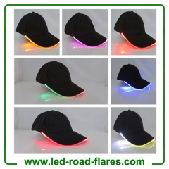7 Colors LED Baseball Caps LED Hats Light Up Peaked Caps Multi-Color Stage Performance Shining LED Caps