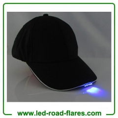 5 Led Cap Led Baseball Cap Led Flashing Cap LED Hat Red Yellow Blue Green Orange White Pink