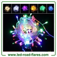 110V/220V Led String Christmas Lightings 10m/100Leds Red/Green/Blue/White/Warm White/RGB/Pink/Purple