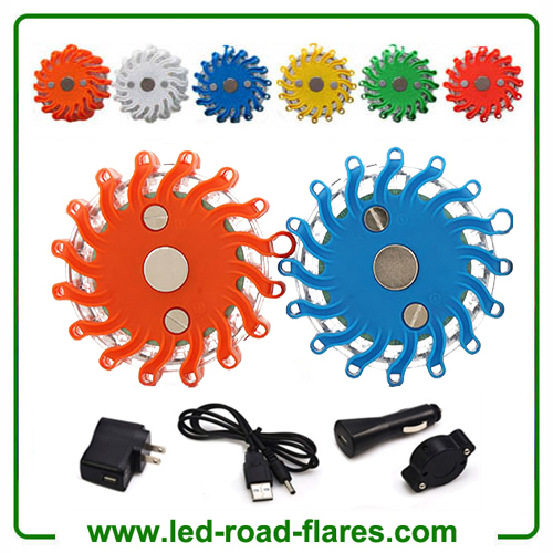 China SOS LED Road Flares Red Recharegable Road Flares Led Strobe Manufacturer Supplier Factory