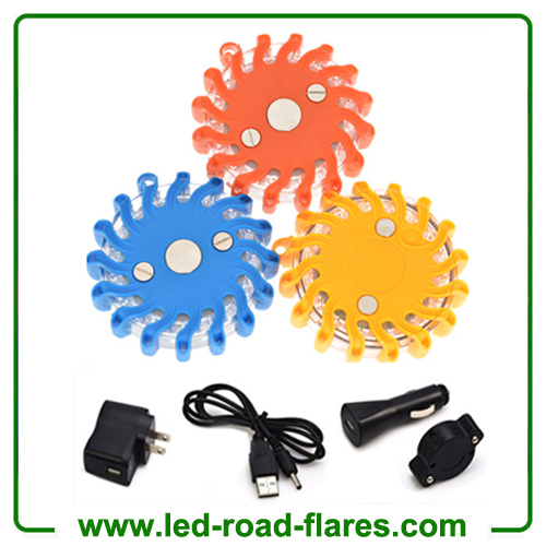 China Flashing Led Roadside Flares Rechargeable Led Road Flares Kits Led Flares Kits Manufacturer Supplier Factory