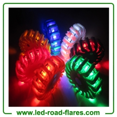 China 9 In 1 Flashing Led Safety Puck Manufacturer Supplier Factory