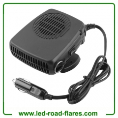 12V 24V Car Auto Heater Heating Fan Dryer Windshield Demister Defroster with Swing-out Handle by Cigarette Socket