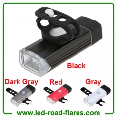 Bike Bicycle Headlight 400 Lumen Bicycle Bike LED Head Lights Front Lamp USB Rechargable Bike Rear Light Taillight