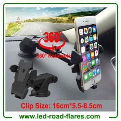 Universal 360 Degrees Rotatable Car Phone Holders Mounts Smartphone Mobile Cell Phone Holders Mounts